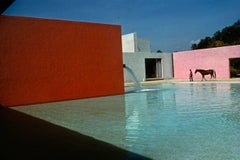 Horse Pool and House by Luis Barragan, San Cristobal, Mexico