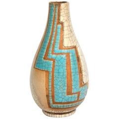 René Buthaud, Piriform Vase, circa 1930