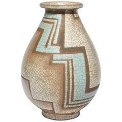 René Buthaud, Serpent Vase, circa 1930