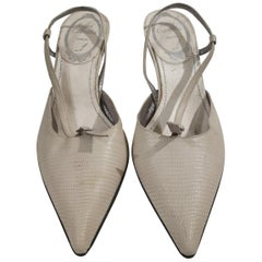 Rene Caovilla Snake Skin Shoes