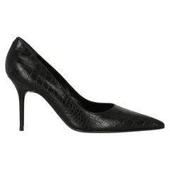 Rene Caovilla  Women   Pumps  Black Leather EU 36.5