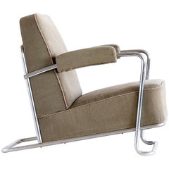 René Coquery B251 Lounge Chair for Thonet Frères, 1930