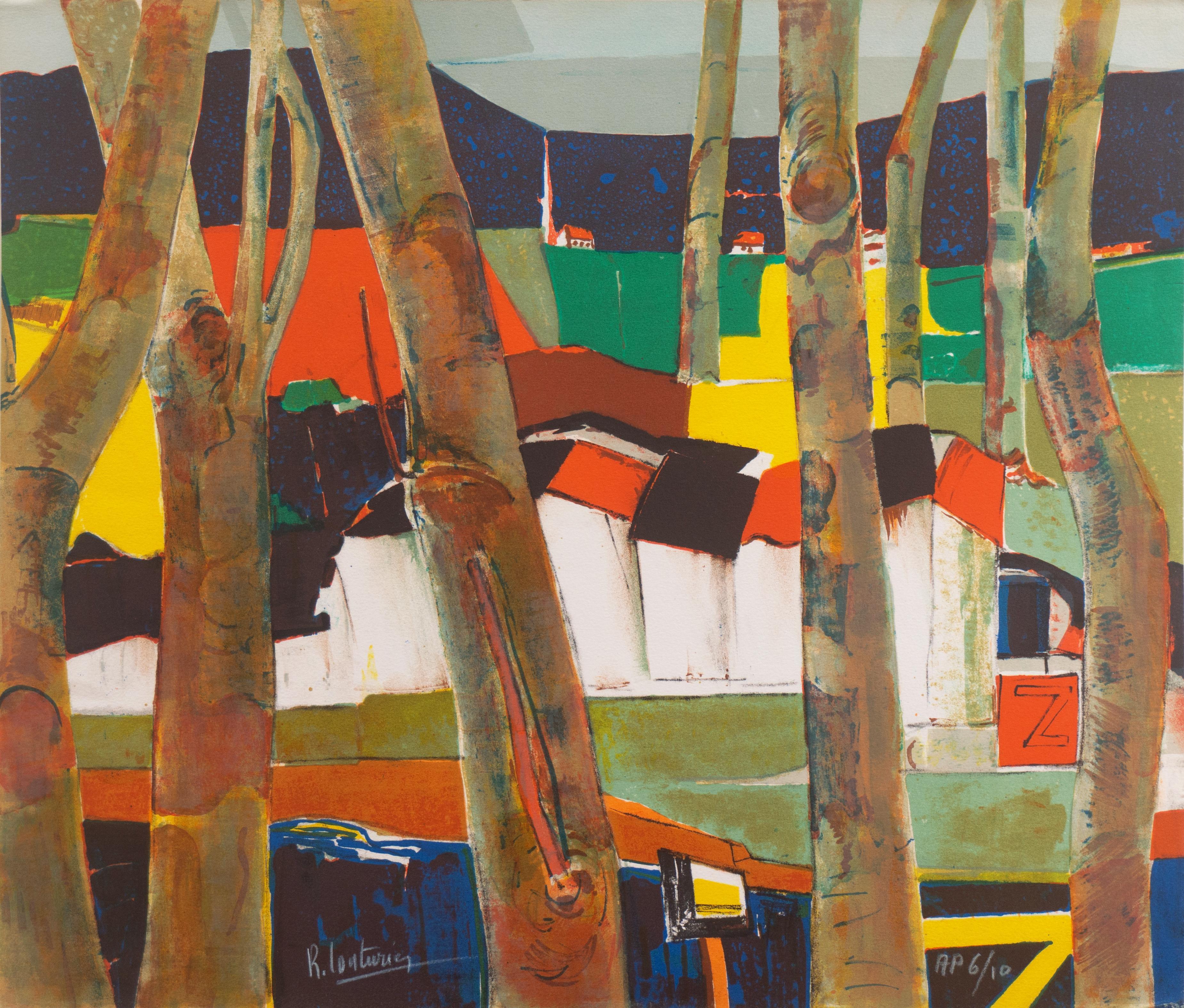 'Landscape', School of Paris, French Salon, Ecole des Beaux Arts, Jeune Painture