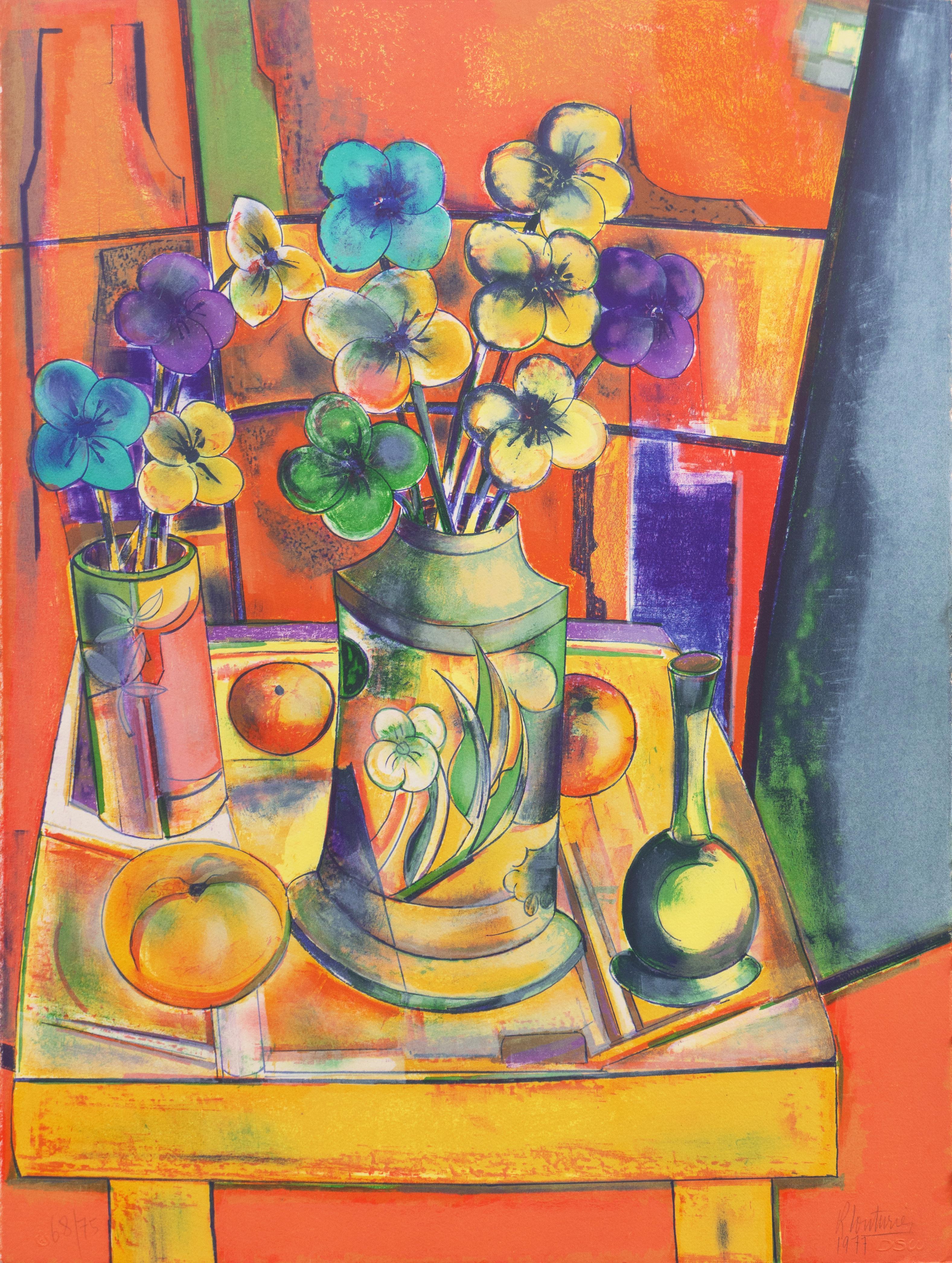 'Still Life of Flowers', Art Salons of Paris, Ecole des Beaux Arts
