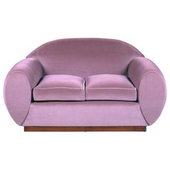René Drouet, Two-Seat Sofa, circa 1935