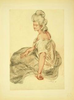 Manon - Original Lithograph 1898