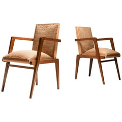 René Gabriel Armchairs in Oak