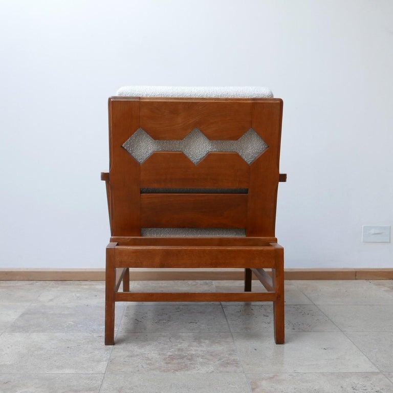 René Gabriel Re-Construction French Midcentury Armchairs For Sale 7