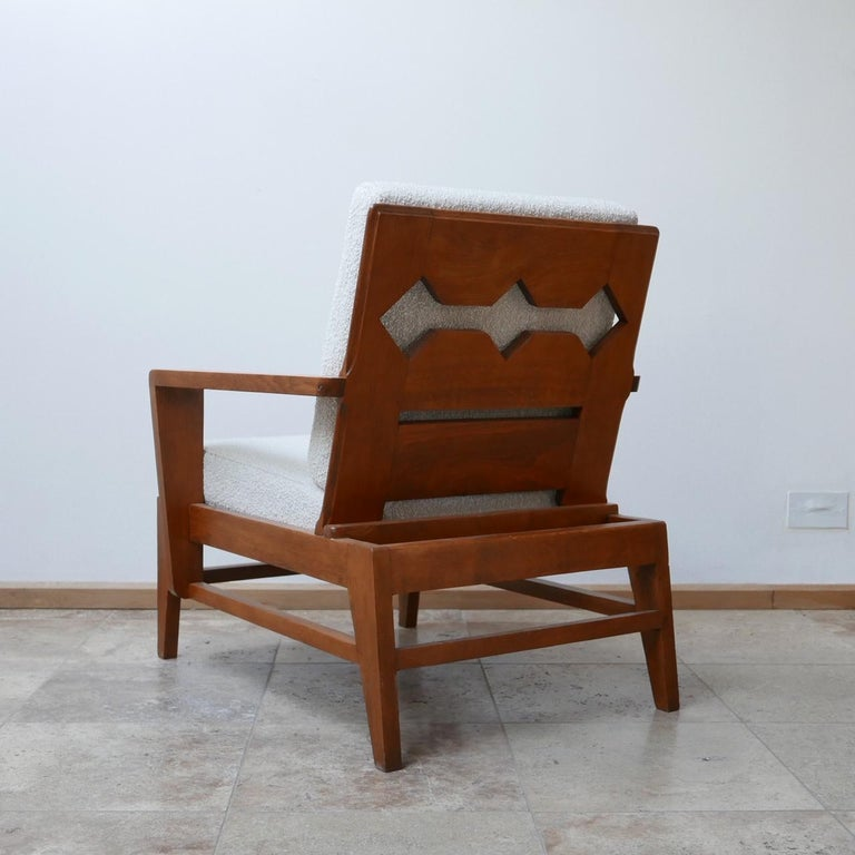 René Gabriel Re-Construction French Midcentury Armchairs For Sale 8