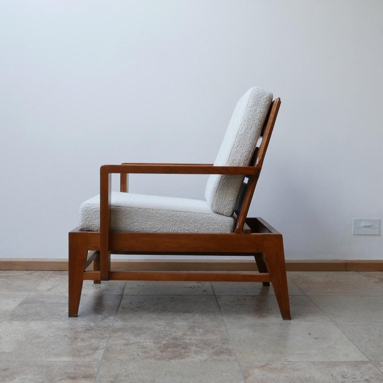 René Gabriel Re-Construction French Midcentury Armchairs For Sale 9
