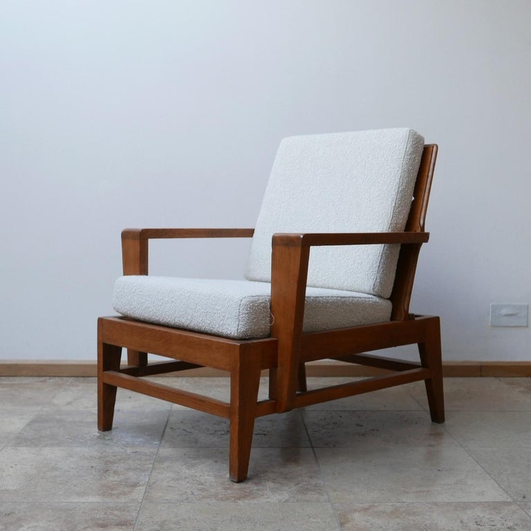 René Gabriel Re-Construction French Midcentury Armchairs For Sale 10