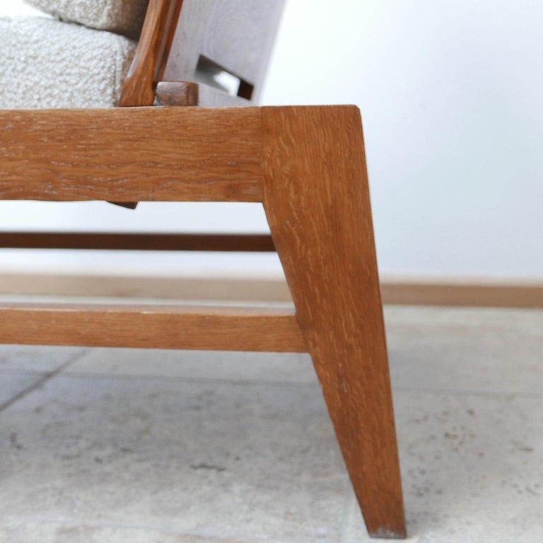 René Gabriel Re-Construction French Midcentury Armchairs For Sale 2