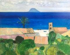 René Genis, Italian view of Stromboli, Sicily