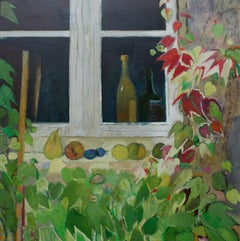 René Genis, Virginia Creeper around a kitchen window