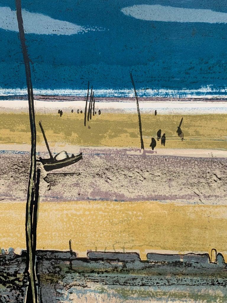 La Plage, Arcachon, Marée basse. (French beach landscape)  For Sale 2