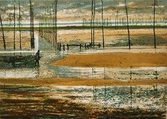 Unknown: Fishing landscape scene
