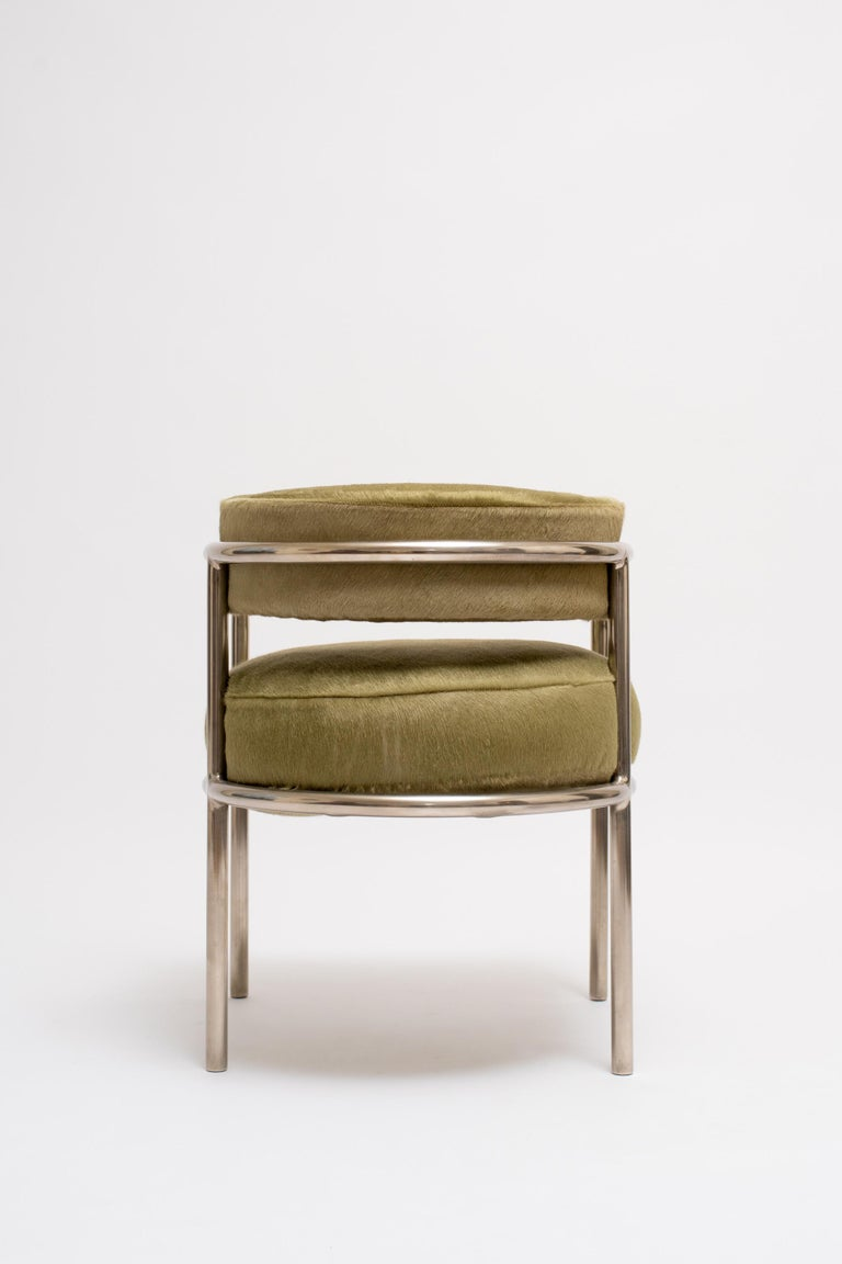French René Herbst Armchair No. 14, circa 1928 For Sale