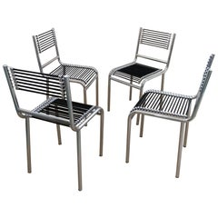 Rene Herbst Sandows Chairs, Offered by La Porte