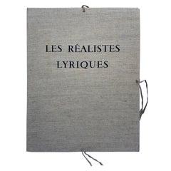 René Huyghe, Canvas Portfolio Les Réalistes Lyriques VIII, 1973