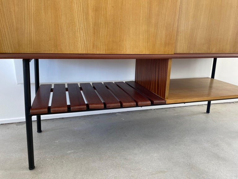 René-Jean Caillette Attributed Cabinet In Good Condition For Sale In Los Angeles, CA