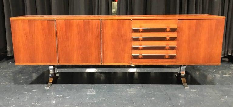 "Model ""SYLVIE"" designed in 1961 in Rio rosewood  Charron editor."
