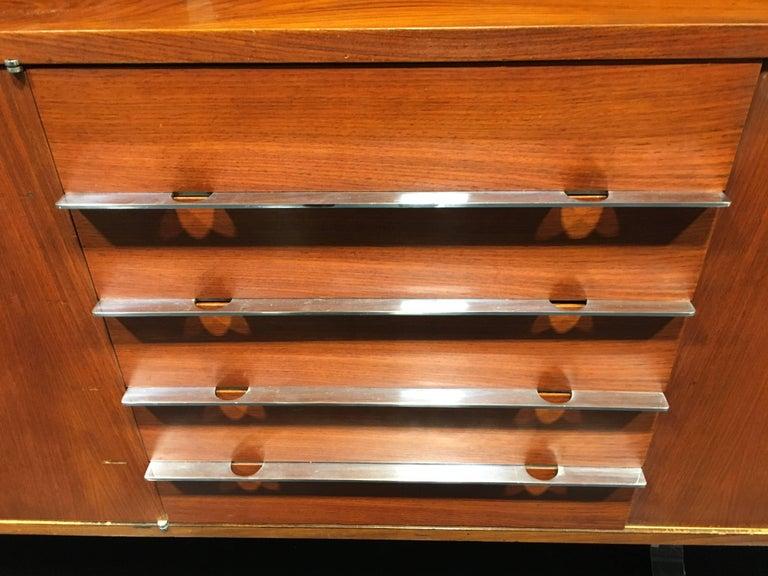 Mid-Century Modern Rene Jean Caillette Sideboard For Sale