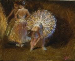 Ballet Dancers Backstage
