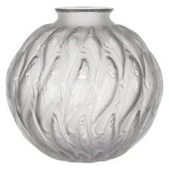 "René Lalique, ""MARISA"" Glass Vase, Marcilhac No. 1002"