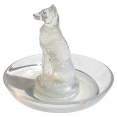 René Lalique '1860-1945' Opalescent Glass Cendrier