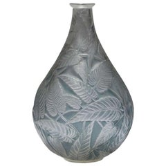"""René Lalique, 1923, Vase """"Sauge"""""""