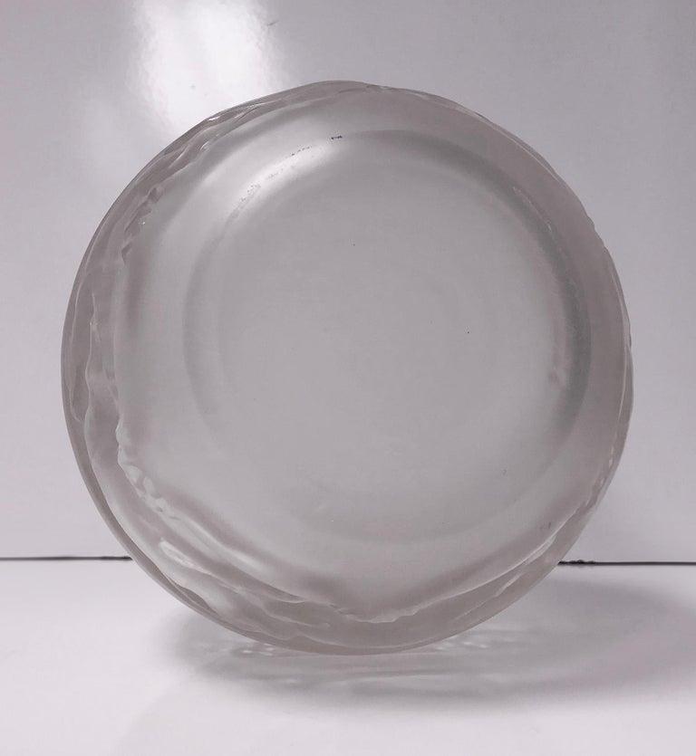 René Lalique 1930s René Lalique Signed Vase, Soudan Pattern In Good Condition For Sale In Toronto, Ontario