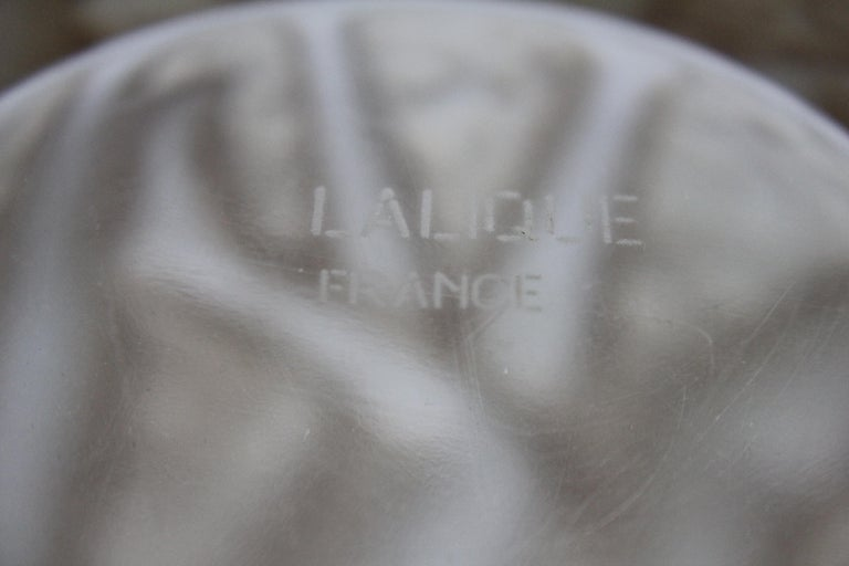 René Lalique Bacchantes Vase, Sepia Stained For Sale 9