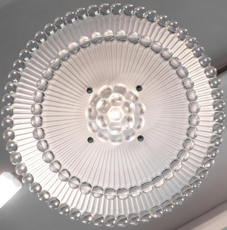 European Rene Lalique Chandelier Perles For Sale