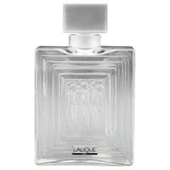 Rene Lalique Duncan No 2. Three Nudes Art Glass Perfume Bottle