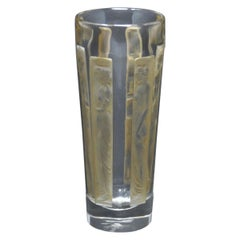 René Lalique Glass 'Six Figurine' Shot Glass