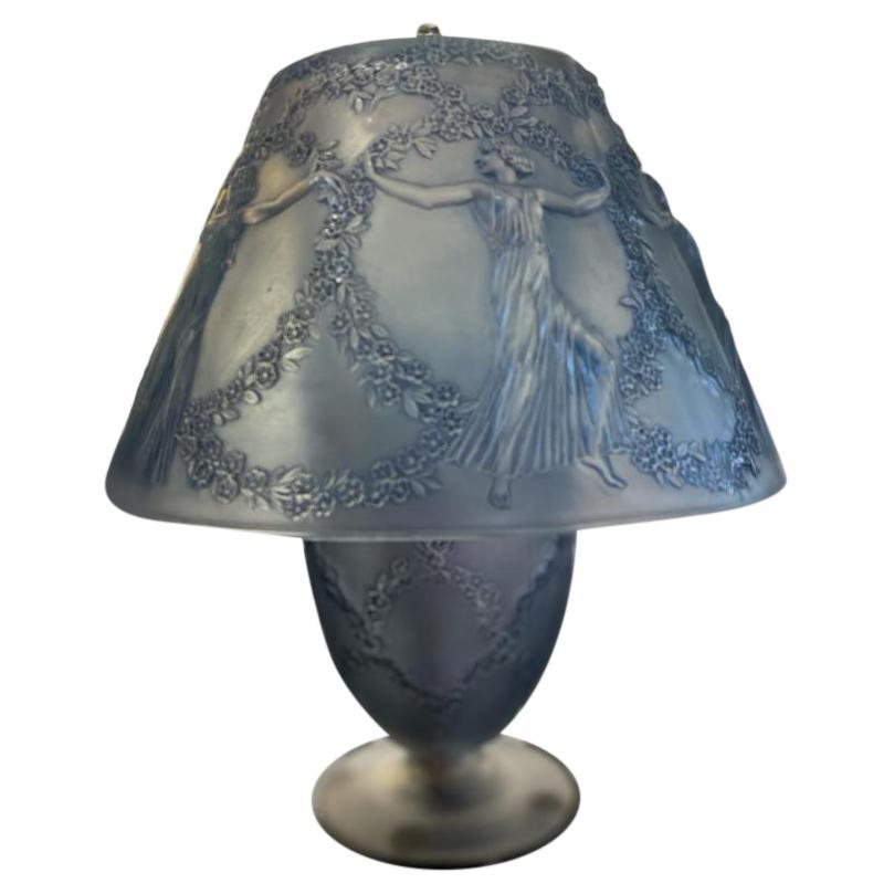 """René Lalique Lamp """"Six Danseuses"""""""