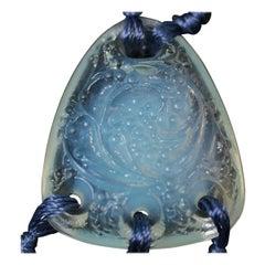 Rene Lalique Opalescent Glass 'Graines' Pendant