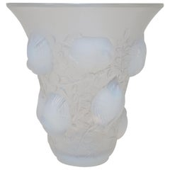 Rene Lalique Opalescent Glass Vase