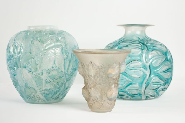 René Lalique Opalescent Vase