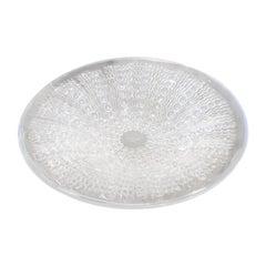 """René Lalique """"Oursins"""" Plate"""