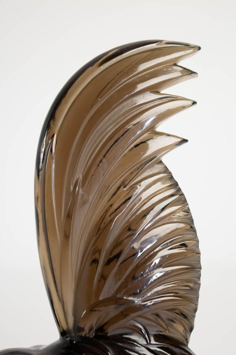 Art Deco Rene Lalique Topaze Mascotte