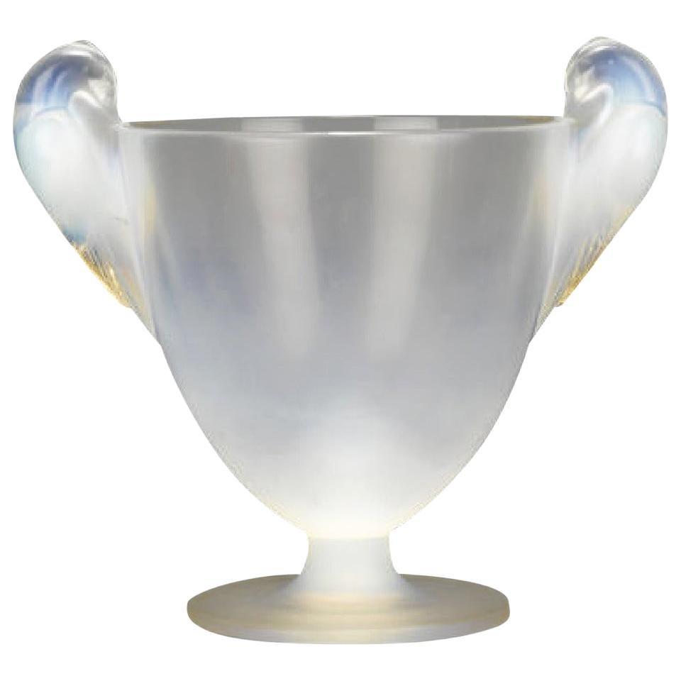 René Lalique Two Handled Vase