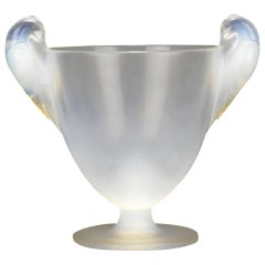 René Lalique Two Handled Vase