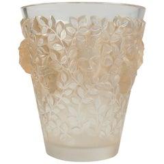 "Rene Lalique Vase ""Silenes"""