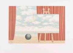 La Belle Captive - Original Lithograph after René Magritte - 1969