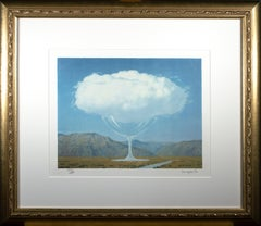 """""""La Corde Sensible (Heartstring),"""" Lithograph after Painting by Rene Magritte"""