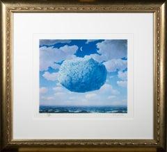"""""""La Fleche de Zenon (Zeno's Arrow),"""" Lithograph after Painting by Rene Magritte"""