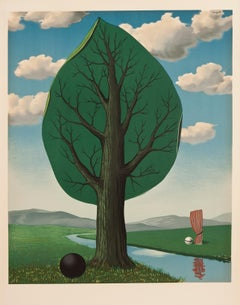 La Geante II by Rene Magritte - Surrealism