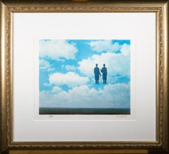 """""""La Reconnaissance Infinie (The Infinite Recognition)"""" Litho after Rene Magritte"""