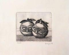 Les Pommes Masques, Rene Magritte